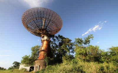 Chaguaramas Tracking Station in Trinidad
