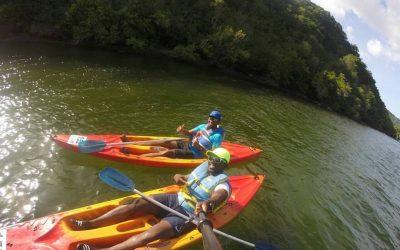 Kayaking in Trinidad