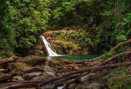 Rio Seco Waterfall Trinidad