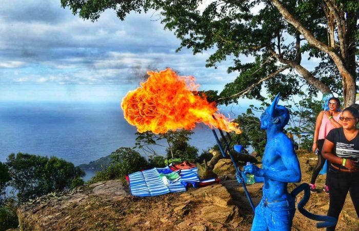 Paramin Blue Devils in Paramin Trinidad - The Paramin Experience by Palance868 Adventures Club